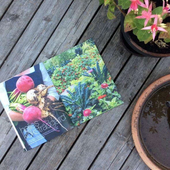Trädgårdsliv, uppslag